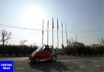 نخستین جایگاه شارژ خودروهای برقی ایران در برج میلاد تهران افتتاح شد