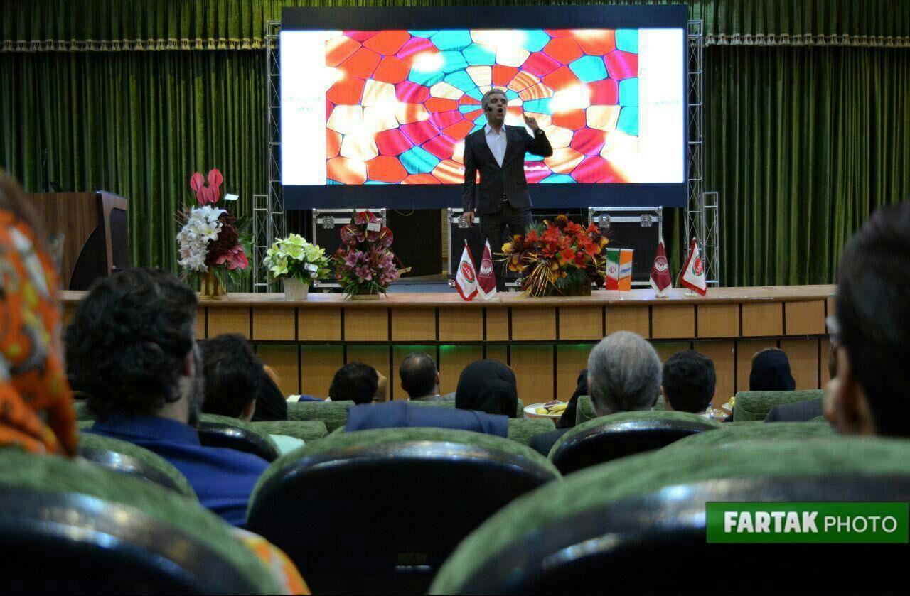 برگزاری همایش در مسیر موفقیت به روایت تصویر
