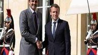 ماکرون و امیر قطر در ۱۹ سپتامبر با یکدیگر دیدار می کنند