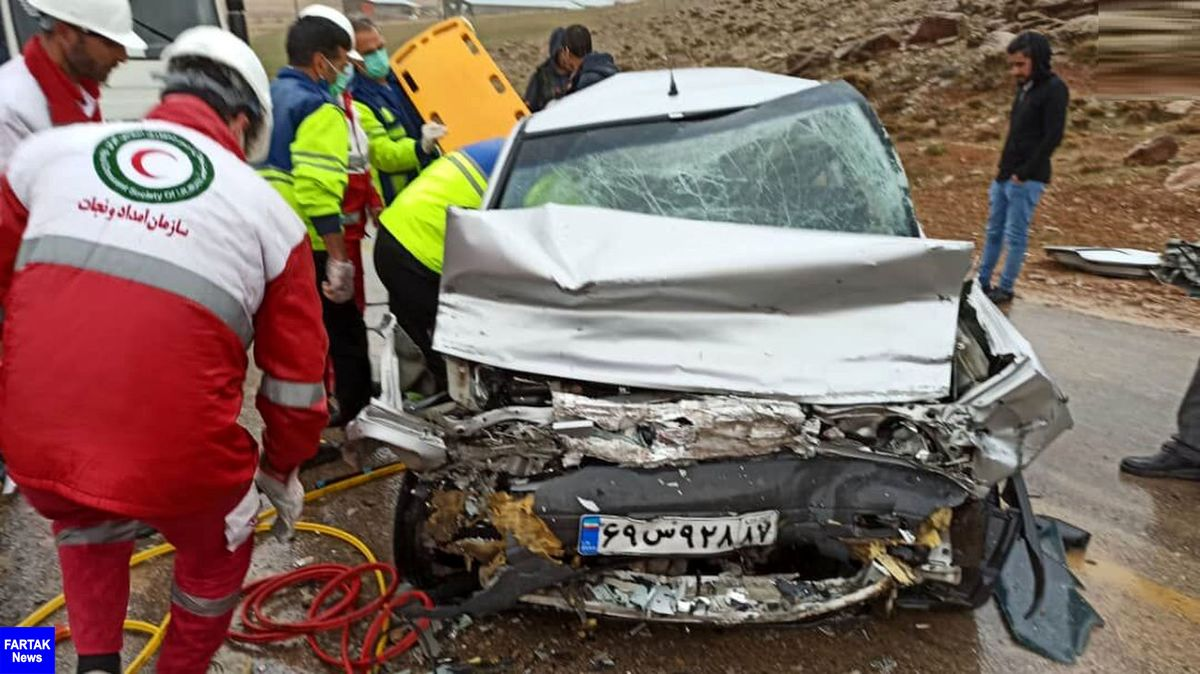 تصادف مرگبار پراید با نفت کش / 2 مرد و یک کودک درجا کشته شدند
