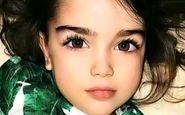 دختر 3 ساله زیبارو در غزه شهید شد