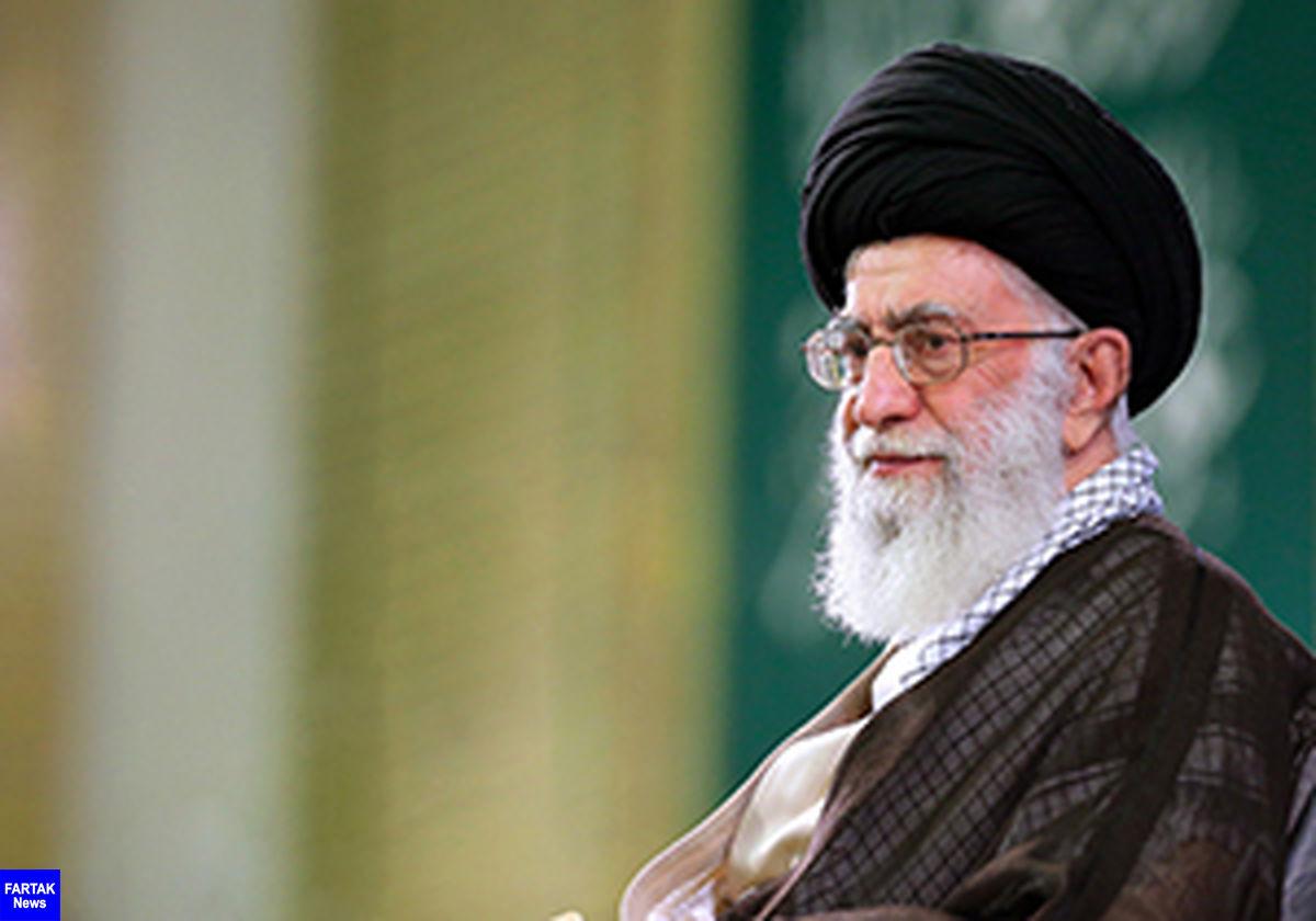 آیت الله خامنهای: وظیفه مداحان مدیریت شادی و عزای جامعه است