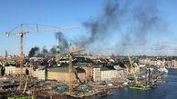 انفجار مهیب استکهلم سوئد را لرزاند