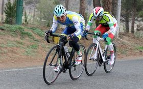 آخرین رقابتهای لیگ برتر دوچرخسوران باشگاهای کشور  و دستهیک در جاده تهران