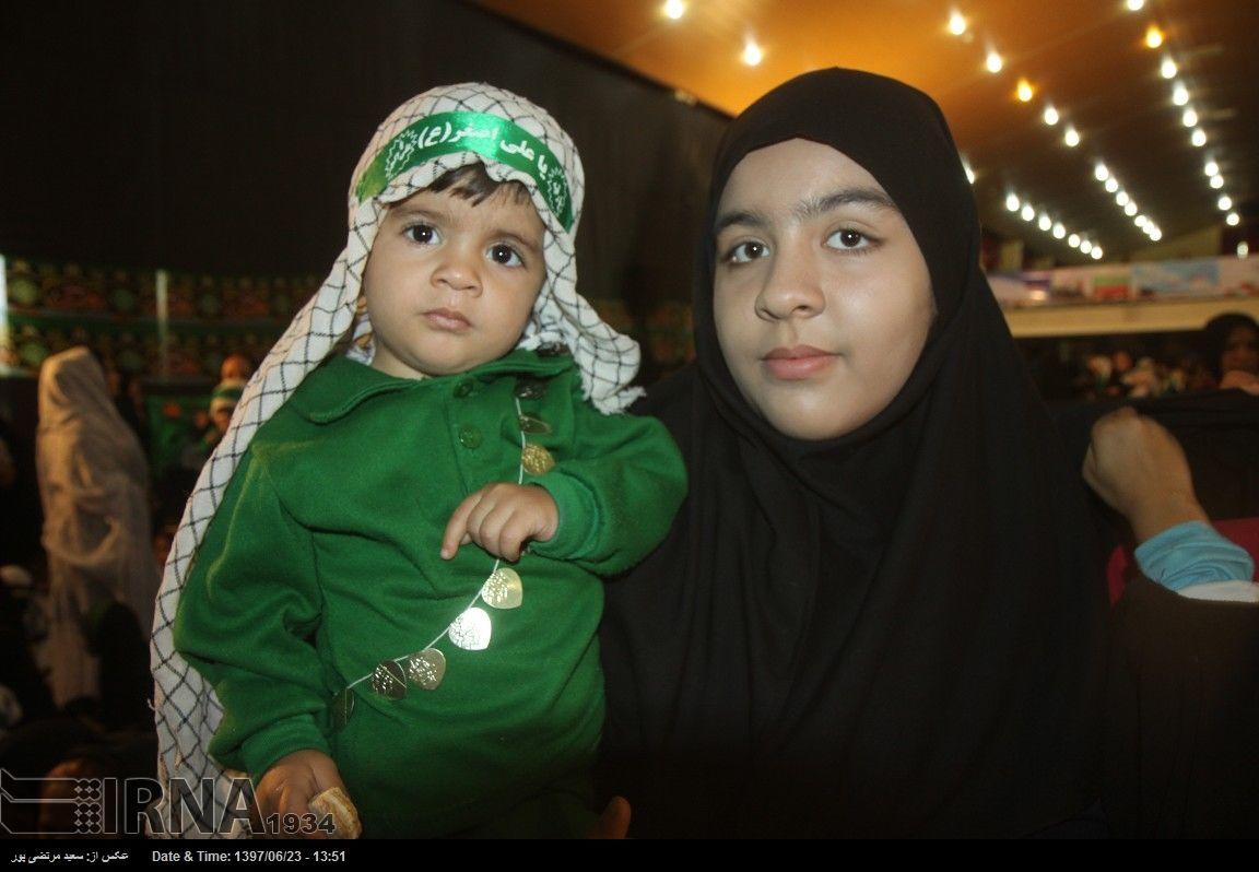 نوایی لالایی در حسینه عاشقان ثارالله یاسوج + عکس