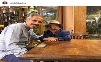 جواد رضویان:دروغ است من سیاسی نیستم + عکس