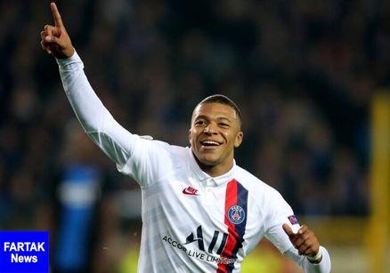 پیروزی پر گل PSG  با درخشش امباپه