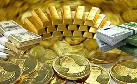 ریزش قیمت سکه و دلار در معاملات پشت خطی