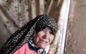 پیرزن گلستانی تنها دارایی خود را به سیل زدگان داد +فیلم