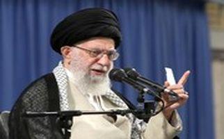 رهبرانقلاب: آن بنده خدا گفته بود ملت ایران دیگر مرگ بر آمریکا نمیگویند!