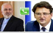 گفتگوی ظریف با همتای اوکراینی درباره روند رسیدگی به سانحه سقوط هواپیما