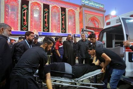 آخرین وضعیت انتقال پیکر زائر جانباخته مشهدی در حادثه کربلا
