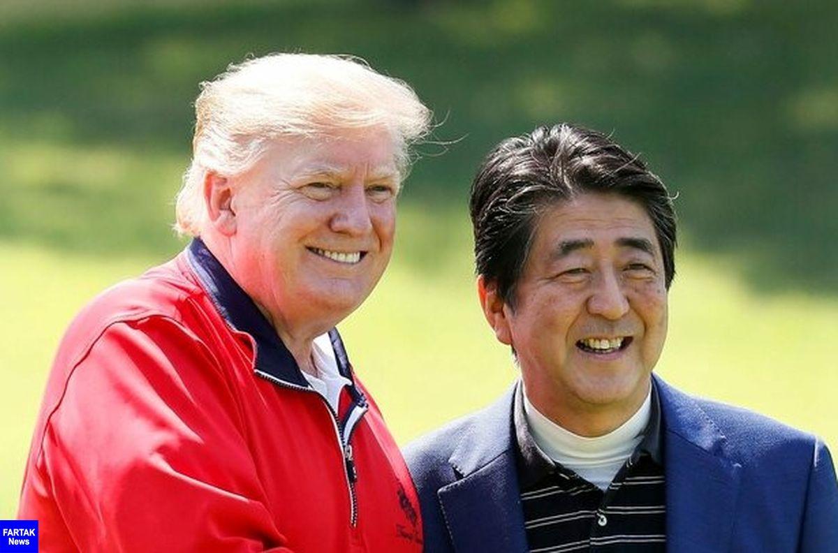 نخست وزیر ژاپن درباره نتایج سفر به ایران با ترامپ گفتگو کرد