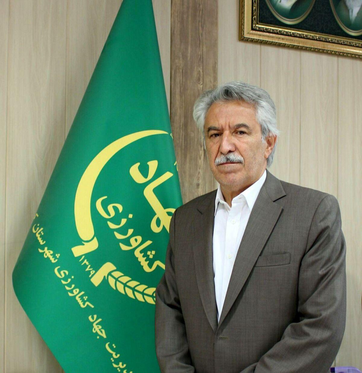 آغاز برداشت کلـزا در شهرستان کرمانشاه
