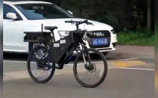 دوچرخهای که برای حرکت و حفظ تعادل، به نیروی انسانی نیازی ندارد + فیلم