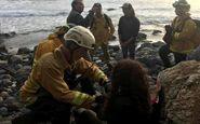 نجات معجزه آسای زن 23 ساله از دره مرگ