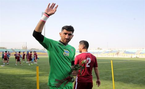 بیرانوند به دنبال کلینشیت شماره 23 تیم ملی