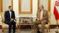 ایران و عمان بر گسترش روابط تاکید کردند