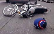 مرگ دردناک دو سرنشین موتورسیکلت در برخورد با اتوبوس
