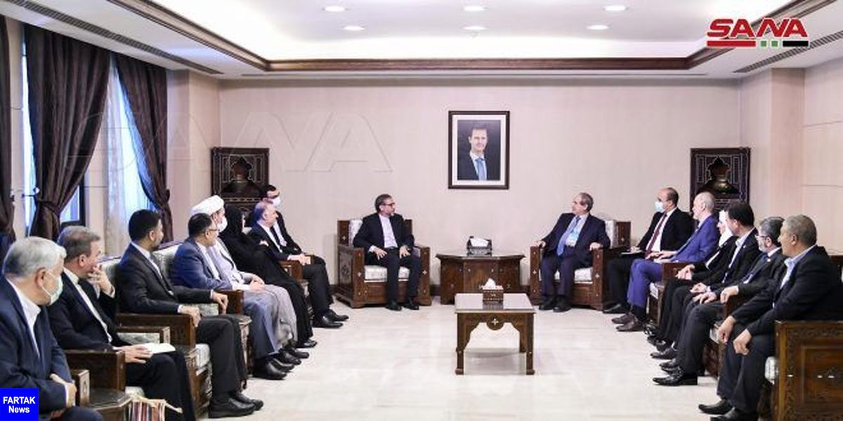 قدردانی وزیر خارجه سوریه از حمایت ایران