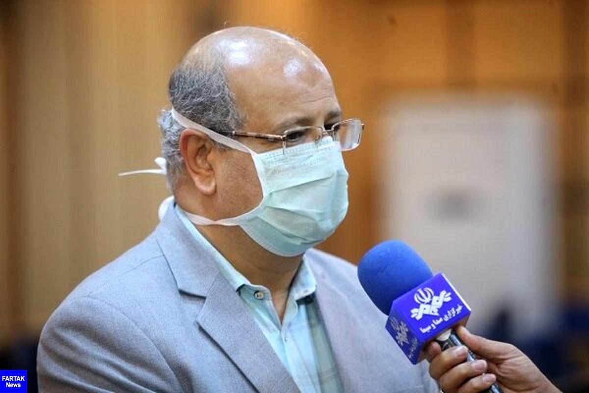 زالی: تهران در آستانه موج سوم کرونا/ استمرار دورکاری کارکنان میتواند از افزایش شیوع کرونا پیشگیری کند