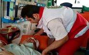 ۲ کشته و ۱۰ مجروح در اثر واژگونی اتوبوس در آهوان سمنان