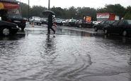 رکورد بارندگی در آستارا شکسته شد
