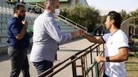 دیدار سرمربی استقلال با اسکوچیچ در کمپ تیمهای ملی
