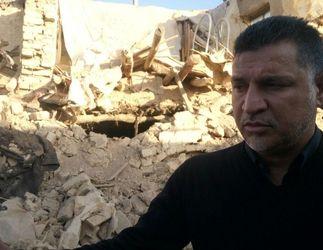 گزارش تصویری از حضور علی دایی در بین زلزله زدگان