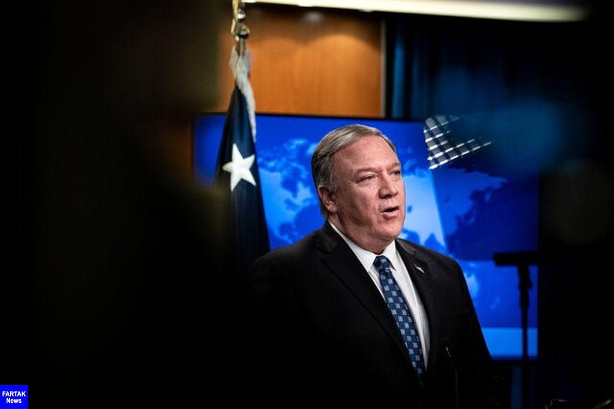 پمپئو: واشنگتن در راستای صلح در خاورمیانه تلاش می کند