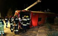 فاجعه مرگبار در اتوبوس تهران-شیراز/ 27 کشته و زخمی