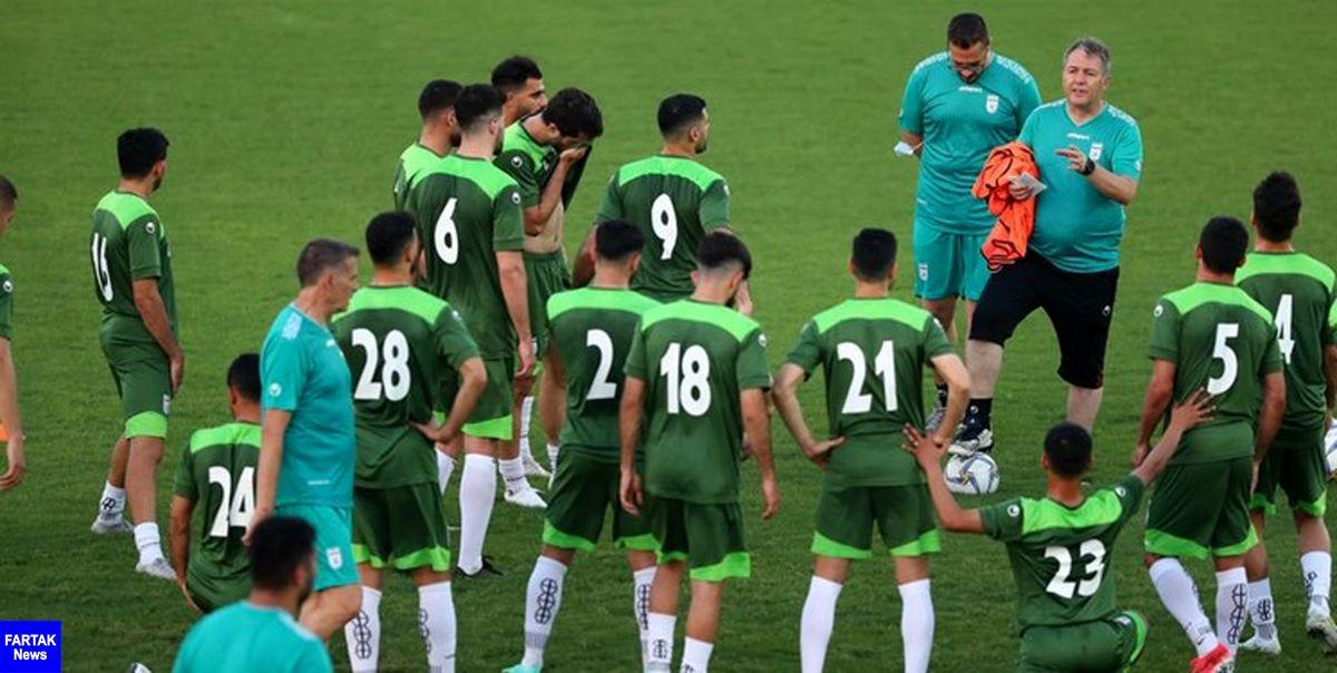 تستگیری دوباره از اعضای تیم ملی فوتبال در بحرین