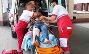 سقوط خودروی سمند به دره گیلده آستارا