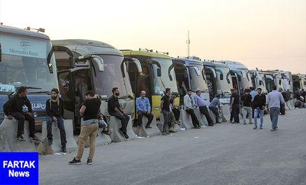 بزرگترین ناوگان حمل و نقل مسافری ایران در ایام اربعین ۹۸ در ایلام تردد میکند