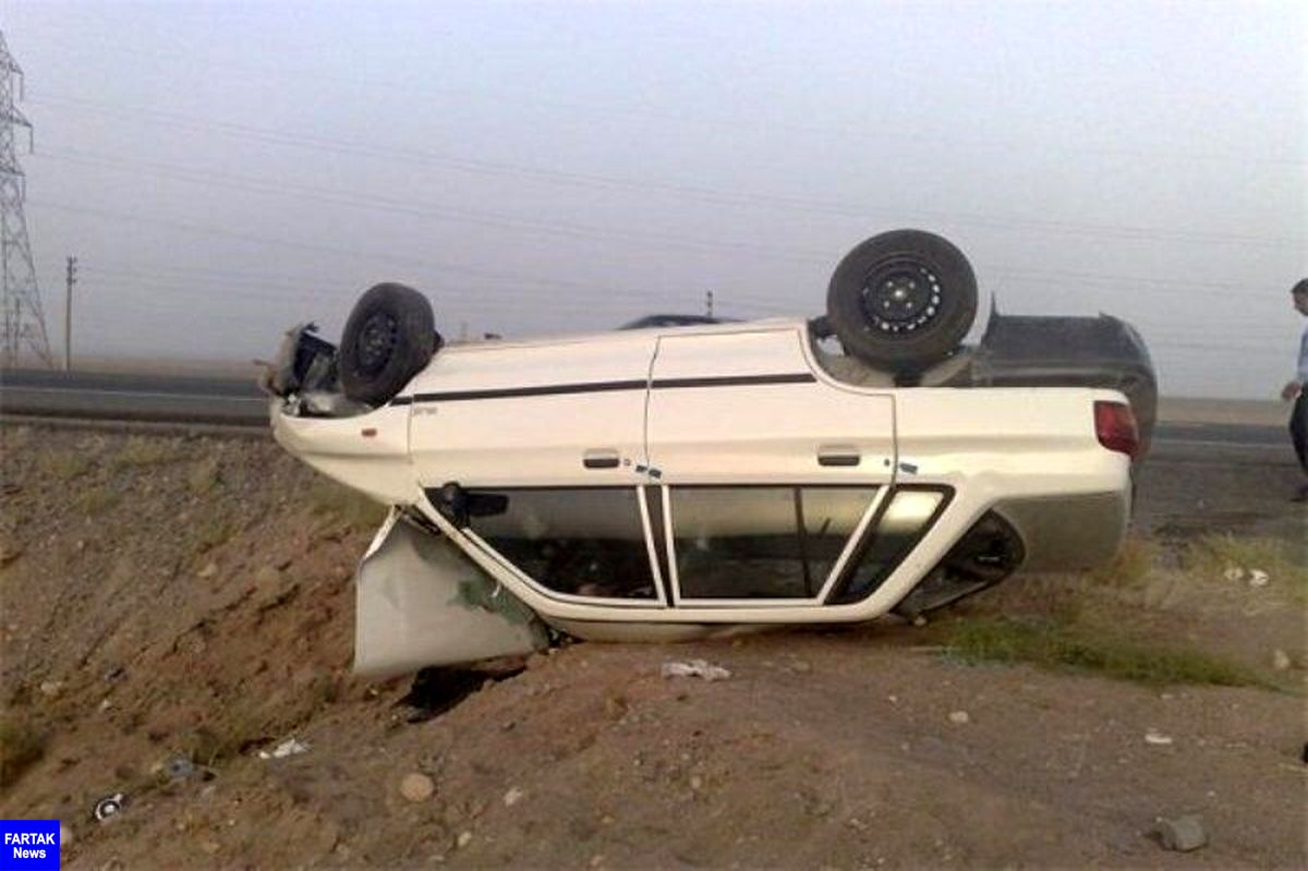 سوانح رانندگی در کرمانشاه ۲ کشته به جا گذاشت