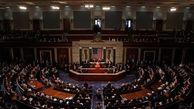 تصویب قطعنامه مجلس نمایندگان آمریکا در حمایت از اعتراضات ایران