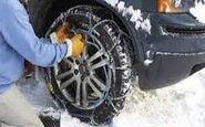 تداوم بارش برف در محورهای شمالی/ الزام تردد با زنجیر چرخ در برخی جادهها
