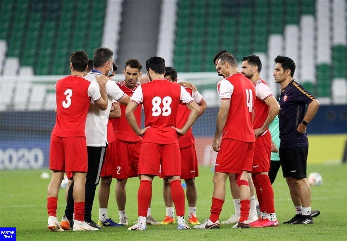 مراقبت از بازیکنان و اعضای تیم در دستور کار باشگاه پرسپولیس