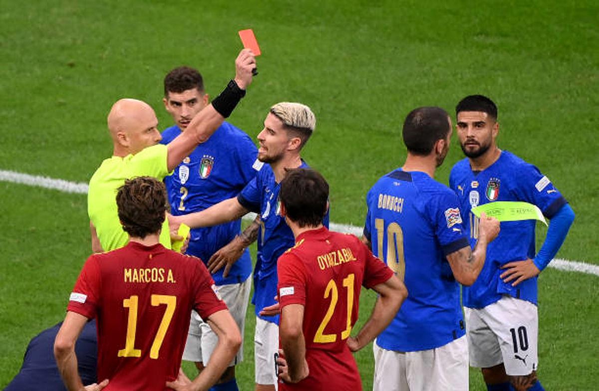 کاپیتان تیم ملی ایتالیا اخراج شد!