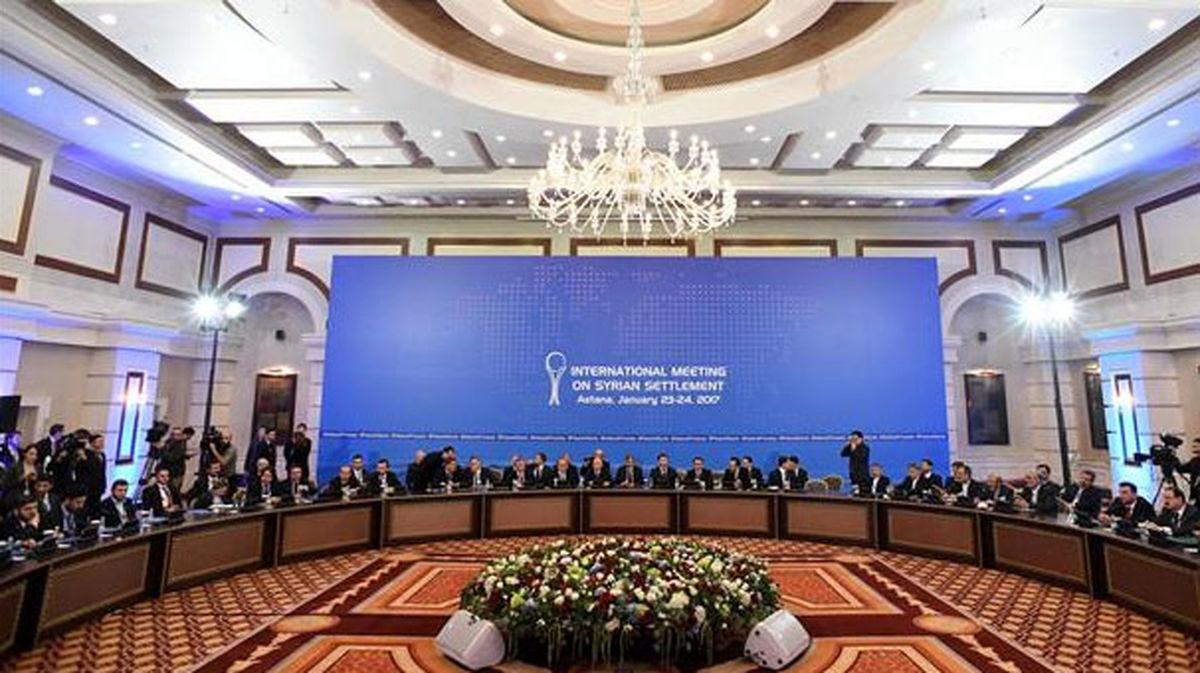 هیأت ایرانی برای شرکت در مذاکرات وارد آستانه شد