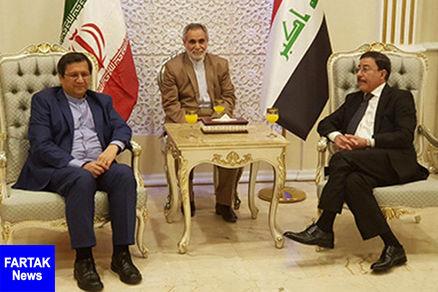 رییس کل بانک مرکزی به منظور انجام مذاکرات بانکی؛ وارد عراق شد
