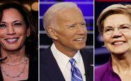 پیشتازی ۱۰ درصدی بایدن نسبت به نزدیکترین رقیب دموکرات