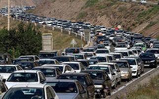 ترافیک سنگین در خروجی تهران به سمت لواسانات!