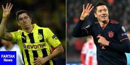 ثبت سریعترین پوکر تاریخ لیگ قهرمانان اروپا به نام لواندوفسکی