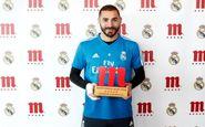 جایزه بهترین بازیکن فصل رئالمادرید به بنزما رسید