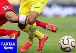 عکس|عجیب ترین زوج خط حمله فوتبال جهان