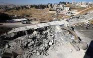 تخریب منازل فلسطینی ها فاز جدیدی از توطئه های رژیم صهیونیستی