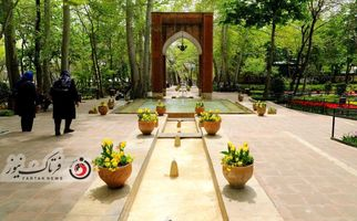 اختصاصی/ تصاویری بسیار دیدنی از باغ ایرانی «بوستان لالههای رنگین» در بهار ۱۴۰۰