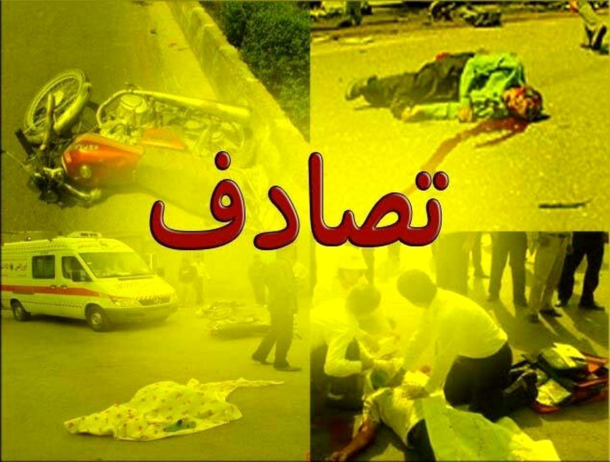 چهار قربانی جدید در آزادراه ساوه همدان