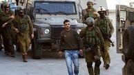 فلسطین|یورش نظامیان صهیونیست به کرانه باختری و بازداشت ۲۲ فلسطینی